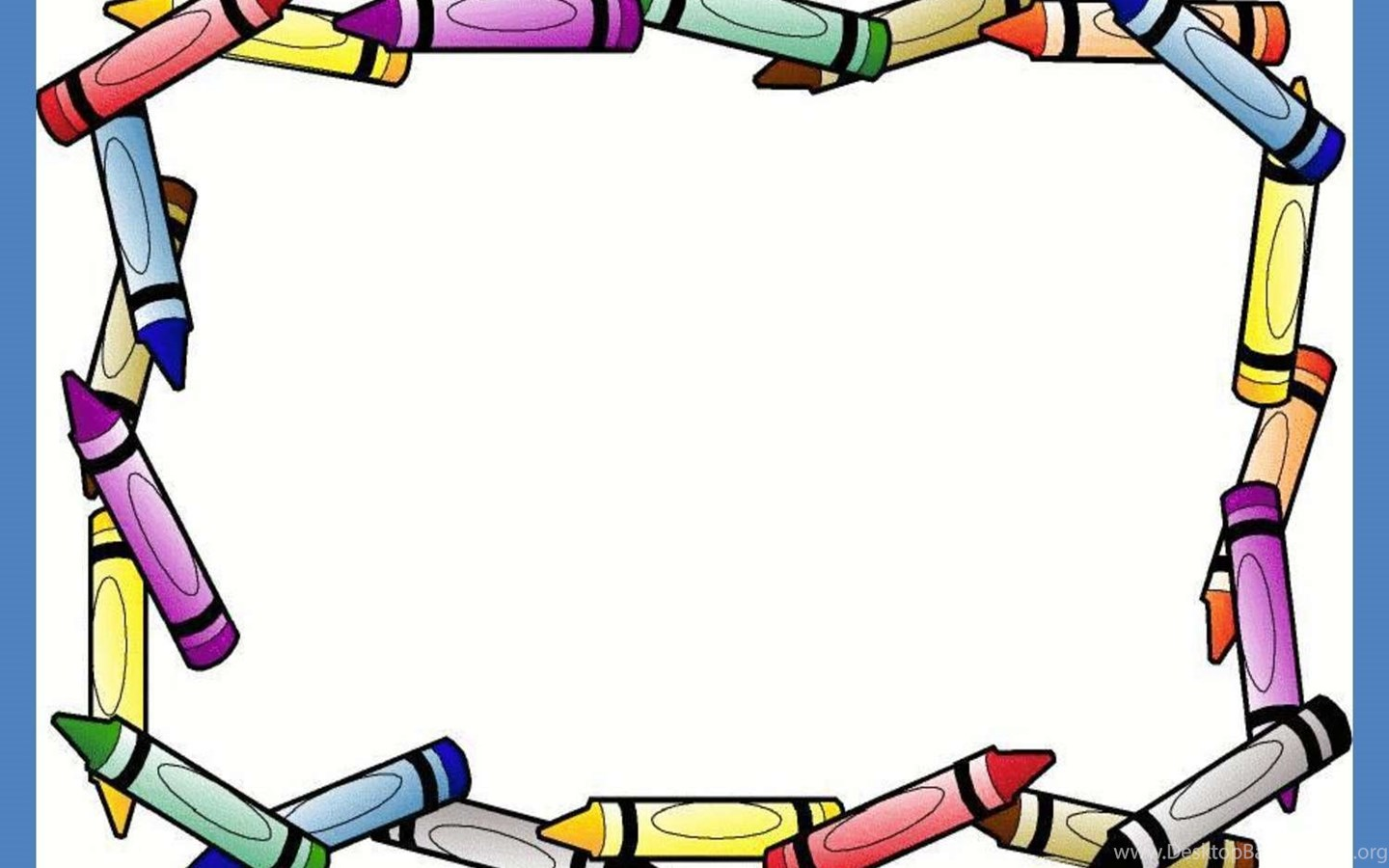 Crayon border frame free ppt backgrounds for your powerpoint widescreen toneelgroepblik Images