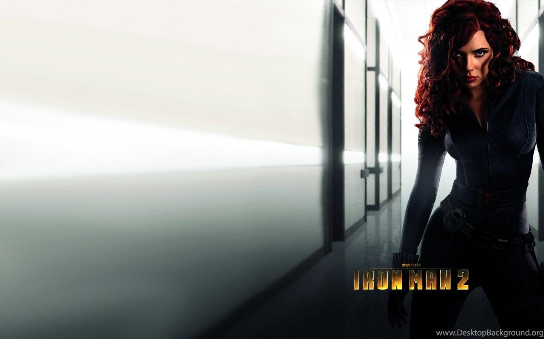 Обои Scarlett Johansson red Iron Man Black Widow movies rh