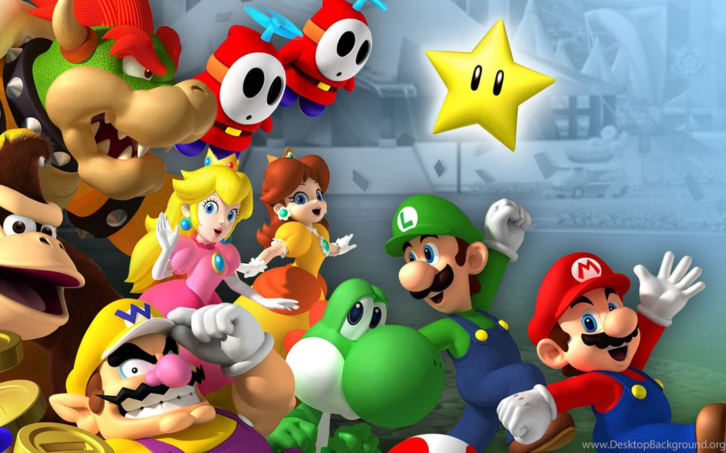 Game Wallpaper Mario And Luigi 1080p Wallpapers For Hd Wallpapers