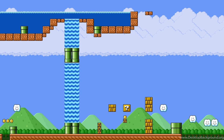 Classic Super Mario Brothers Wallpapers Desktop Background
