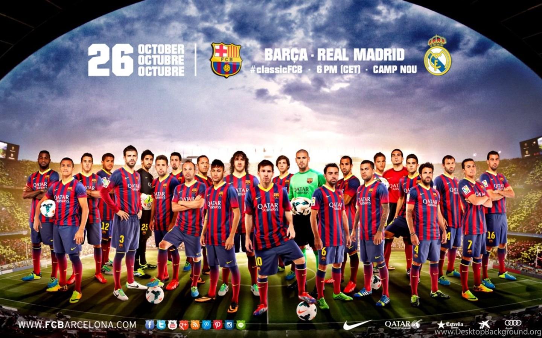 Team Barcelona Fc Wallpapers PC Desktop Background