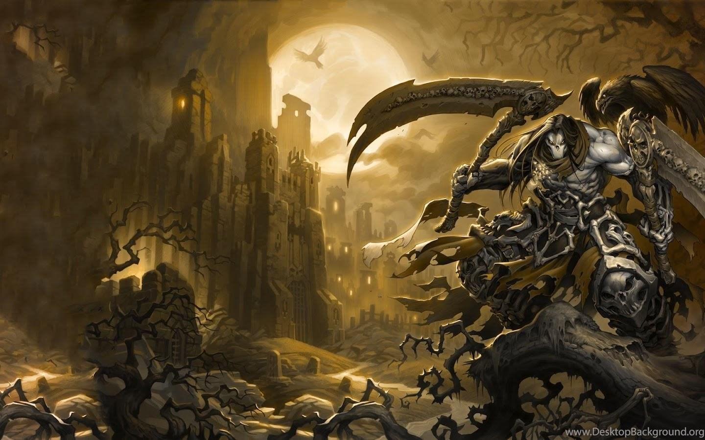 Darksiders Horsemen Wallpaper Desktop Background