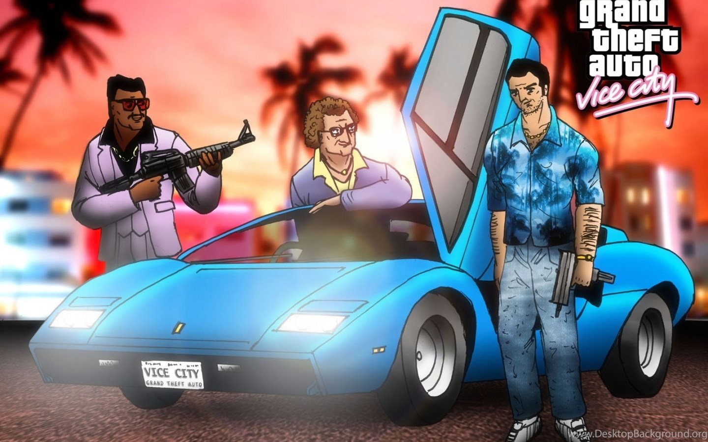 Grand Theft Auto Vice City Hd Wallpapers Desktop Background