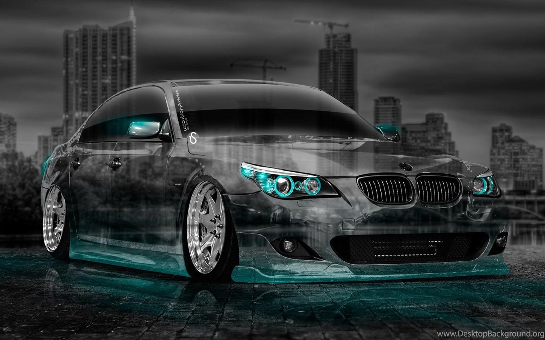 Bmw M5 E60 Tuning Crystal City Car 2014 El Tony Desktop Background