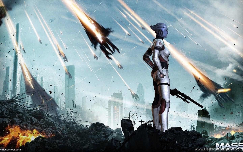 Mass Effect Desktop Backgrounds: Just Walls: Liara T'soni Wallpapers Mass Effect Desktop