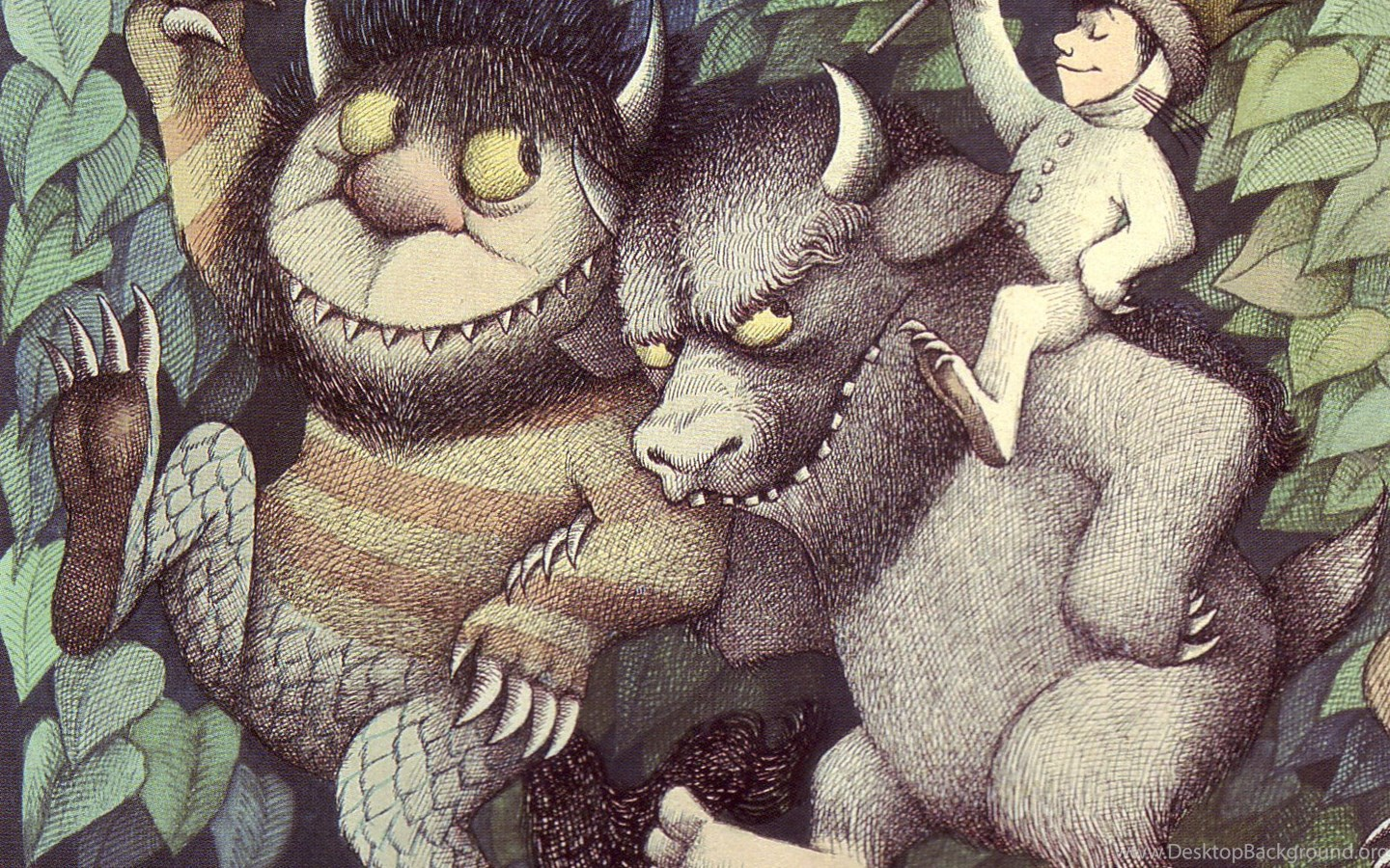 Movies Books Where The Wild Things Are Wallpapers Desktop