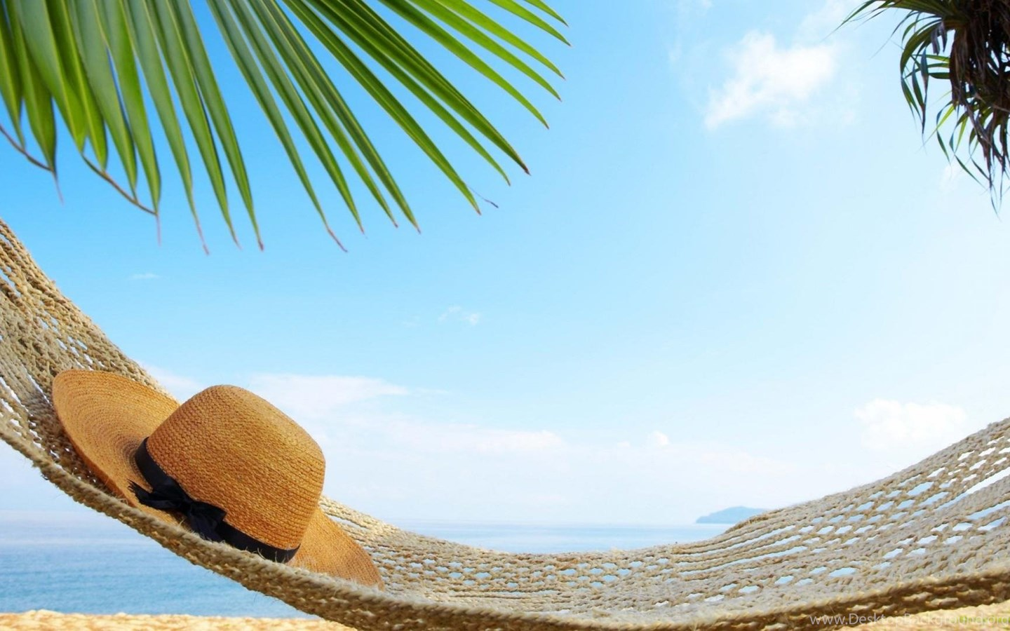 Hammock On Beach Wallpapers: Perfect Day To Relax In A Hammock Wallpaper,beach HD