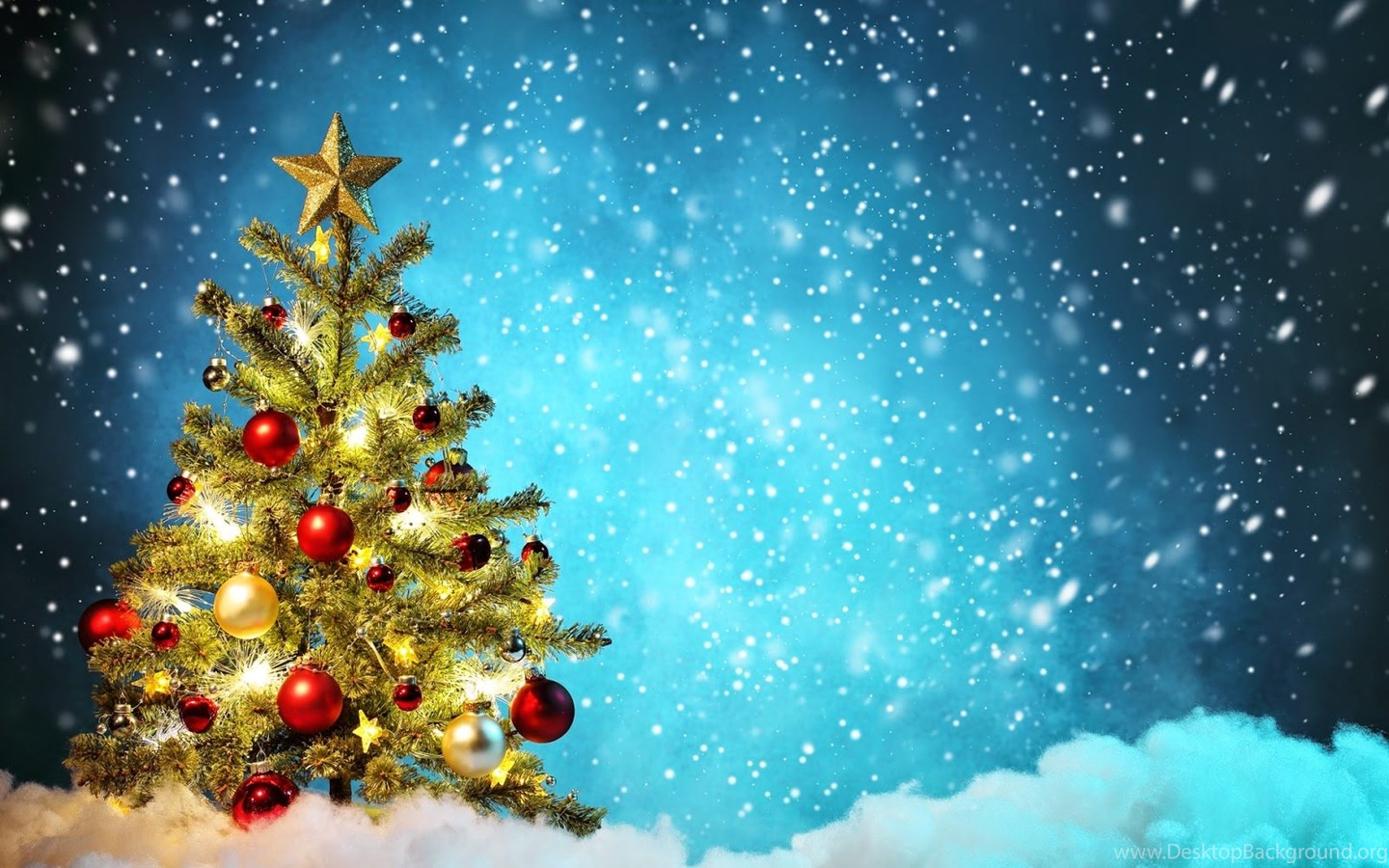 christmas tree wallpapers free desktop background