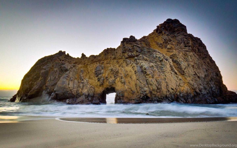 Pfeiffer Beach USA Beaches California HD Wallpapers
