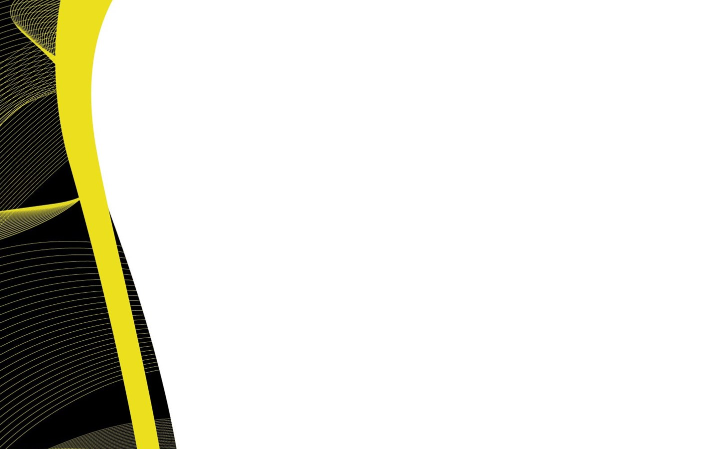 black with yellow powerpoint templates abstract  black