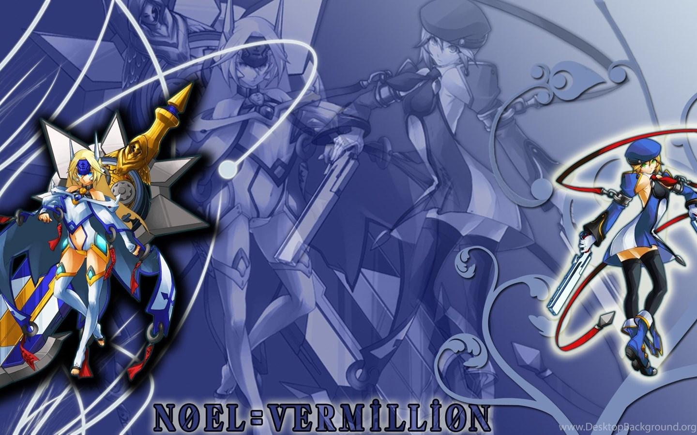 Video Games Blazblue Noel Vermillion Anime Wallpapers Desktop Background