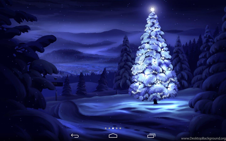 Живые Обои Зима На Андроид Скачать