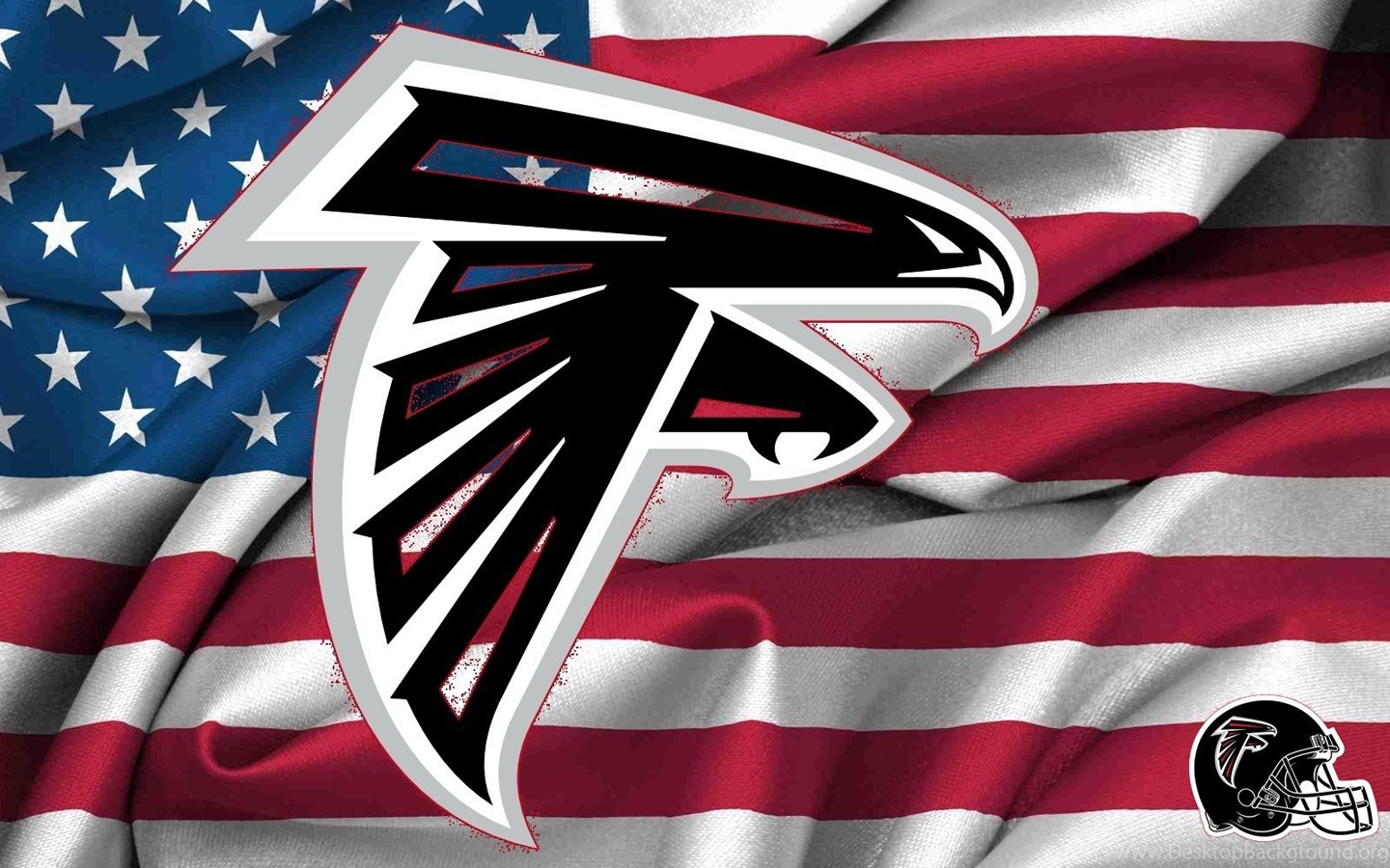 Falcons Iphone Wallpaper: Atlanta Falcons Logo Wallpaper Backgrounds Theme Desktop