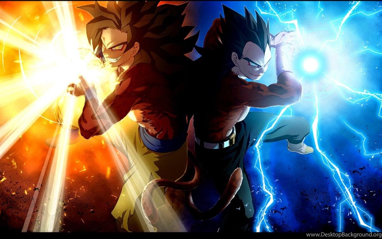 Goku Vegeta Hd Wallpapers Desktop Background