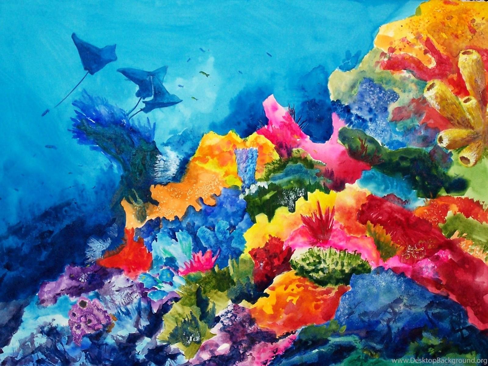 краски подводного мира картинки как интересно носить