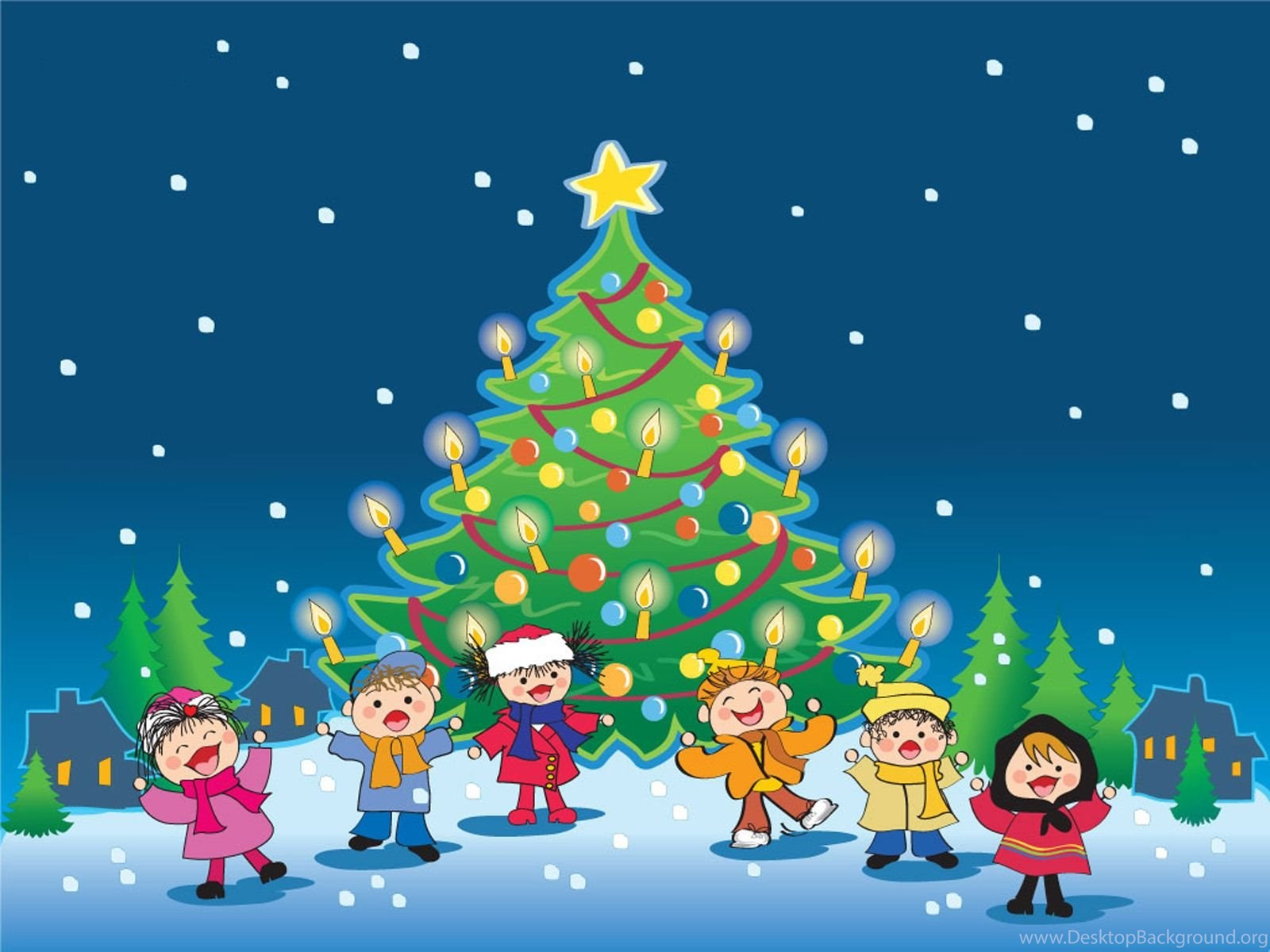 Kids Christmas Pictures Wallpapers High Definition Desktop Background