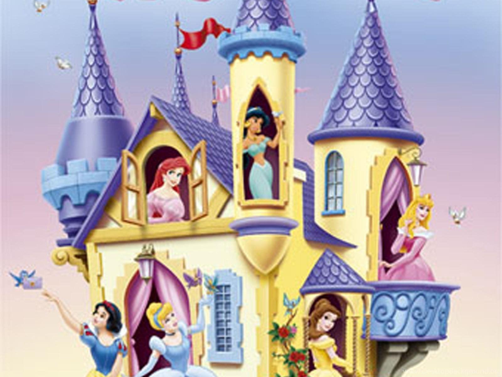 Wallpapers For Disney Princess Castle Backgrounds Desktop Background