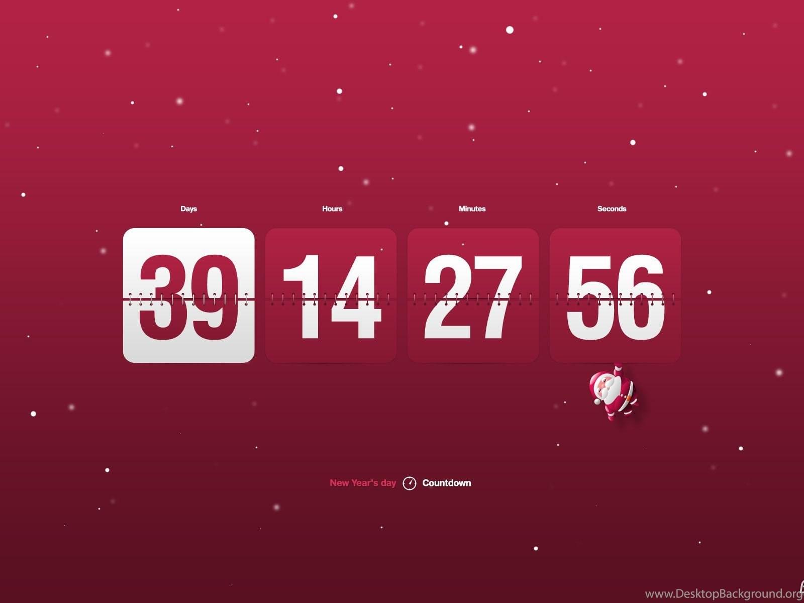 Download Free New Year Clock & Countdown Screensaver, New