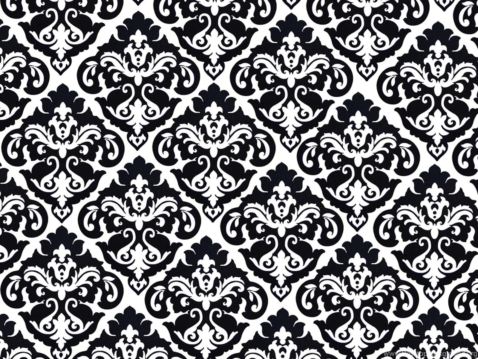 simple damask border wallpaper - HD1600×1200