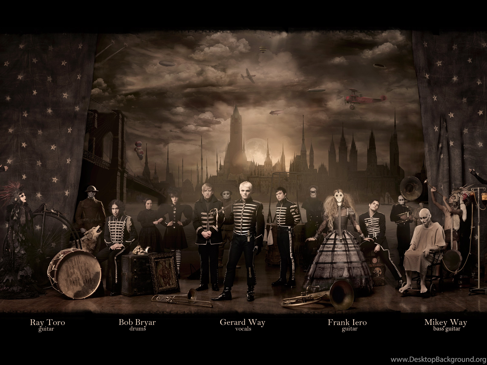 The Black Parade Wallpapers Zone Desktop Background