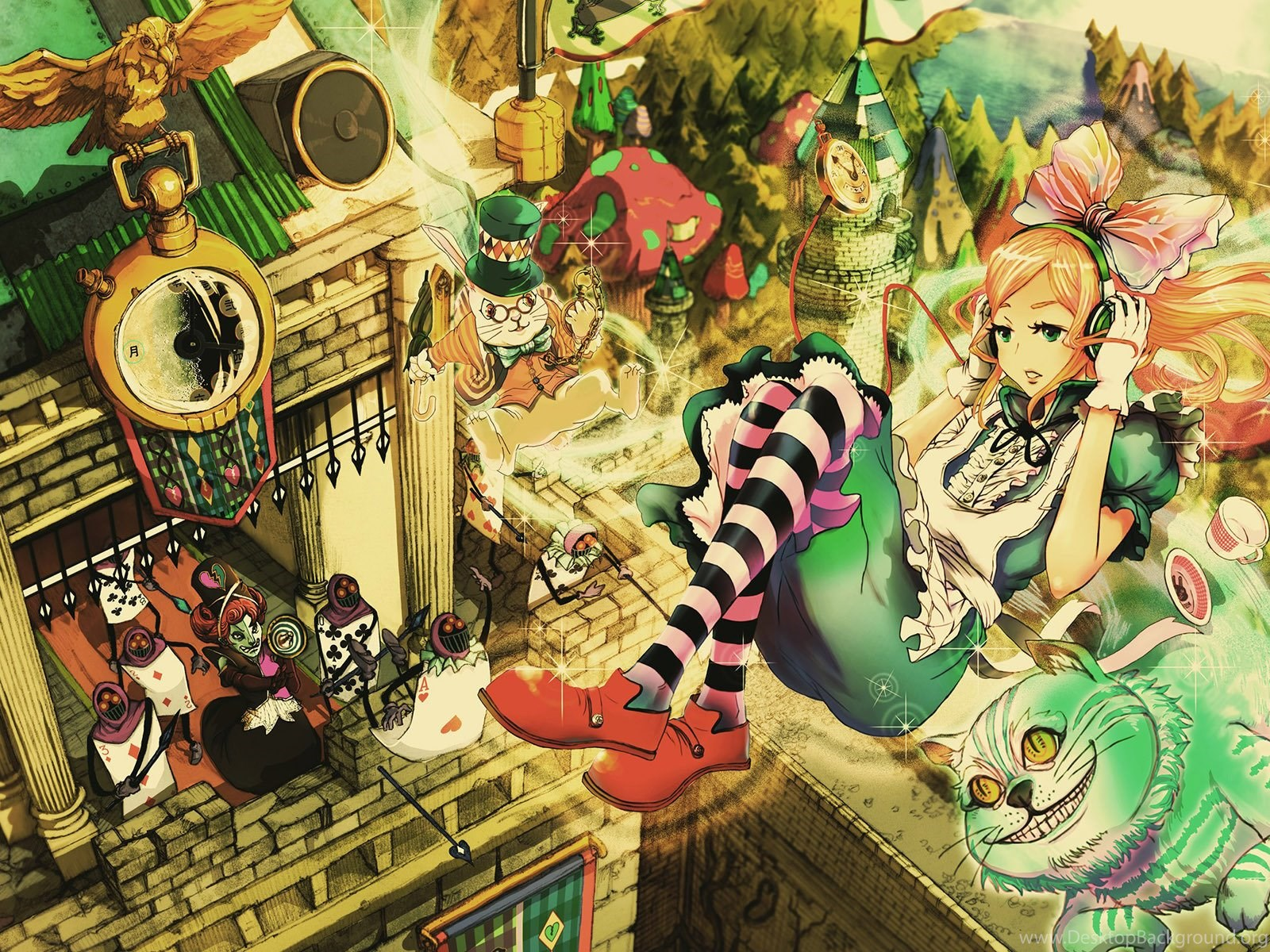 Alice in wonderland wallpapers for iphone desktop background - Alice in wonderland iphone wallpaper ...