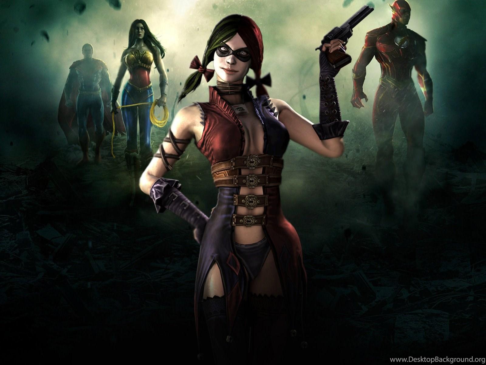 Free Harley Quinn Injustice Wallpapers 1080p Bc2 Wallx Desktop
