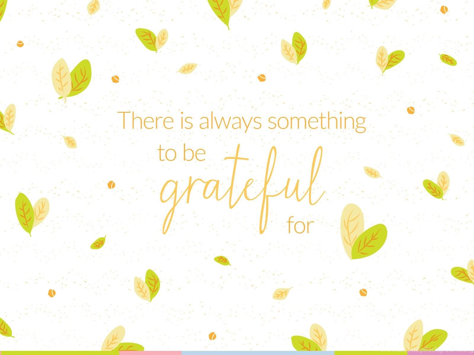 Free Gratitude Wallpapers Desktop Background