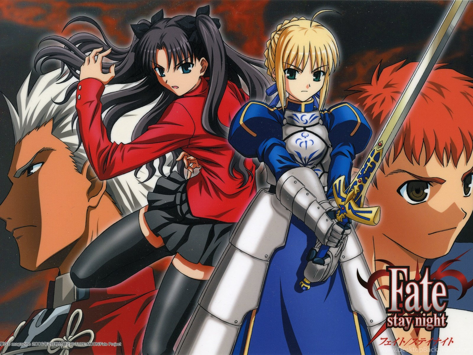 782 Fate Stay Night Hd Wallpapers Desktop Background