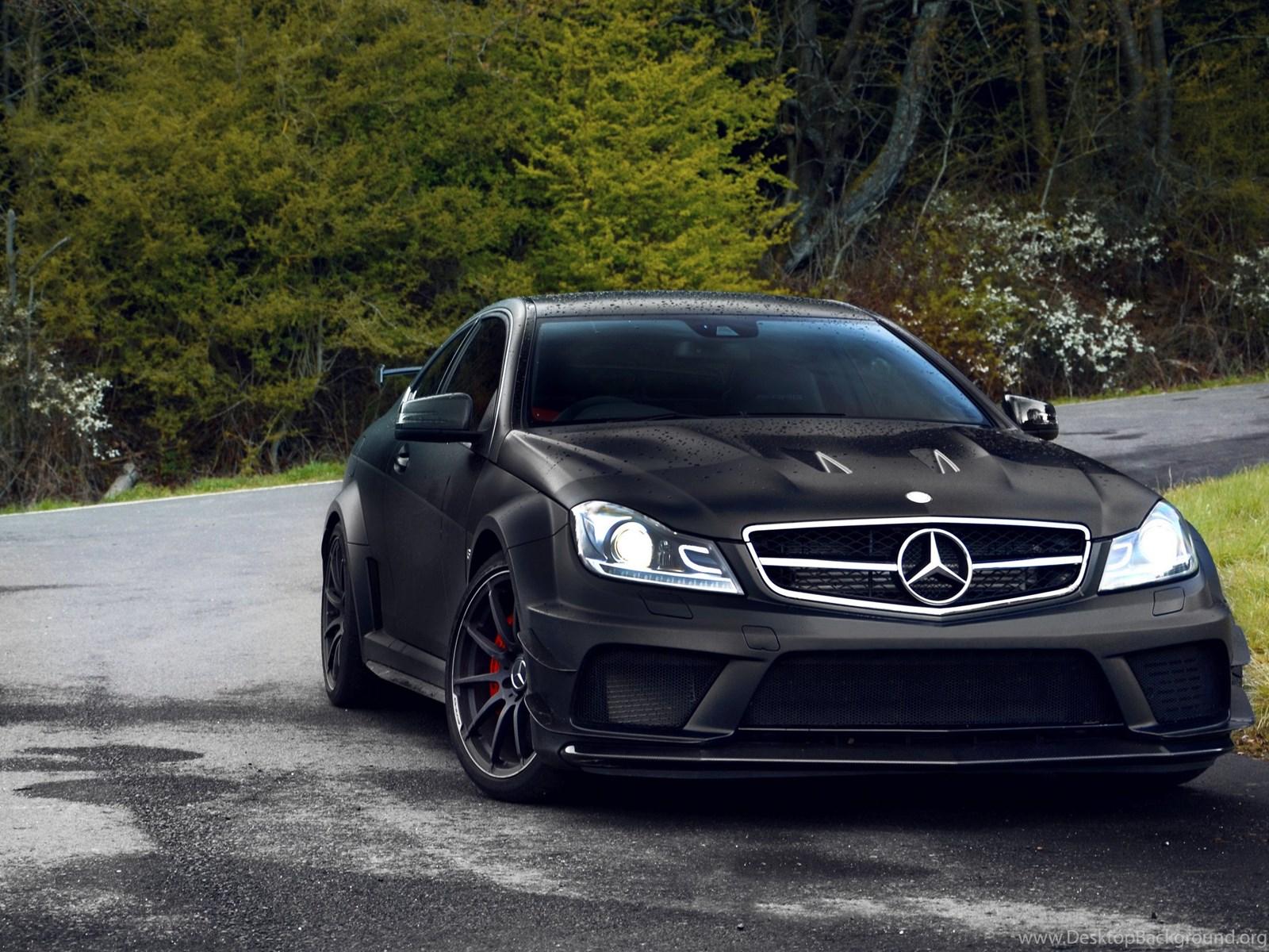 Mercedes black  № 1615378 бесплатно