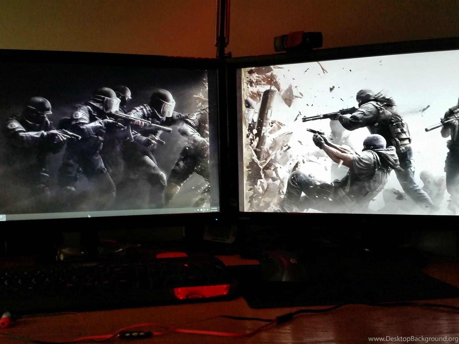 одна картинка на два экрана вполне