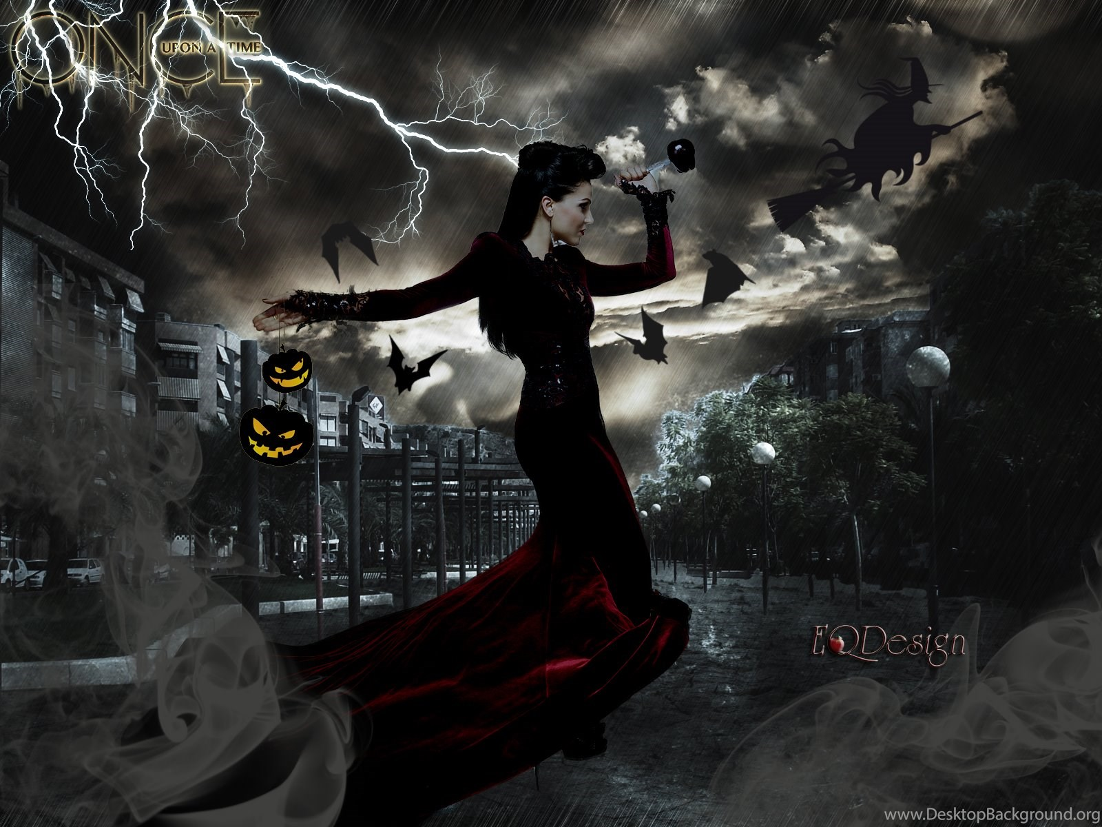 The Evil Queen Halloween Fan Art Once Upon A Time Wallpapers