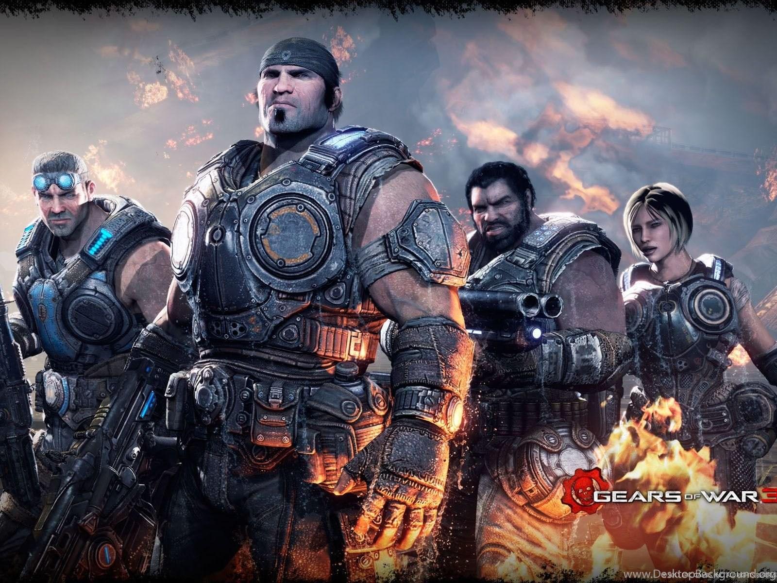 Gears Of War 3 Wallpapers Hd Wallpapers Cave Desktop Background