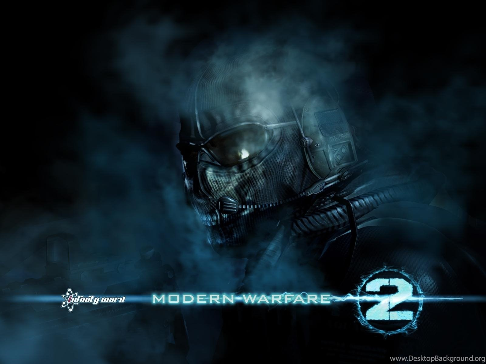 Call Of Duty Modern Warfare 2 Ghost Wallpapers Widescreen