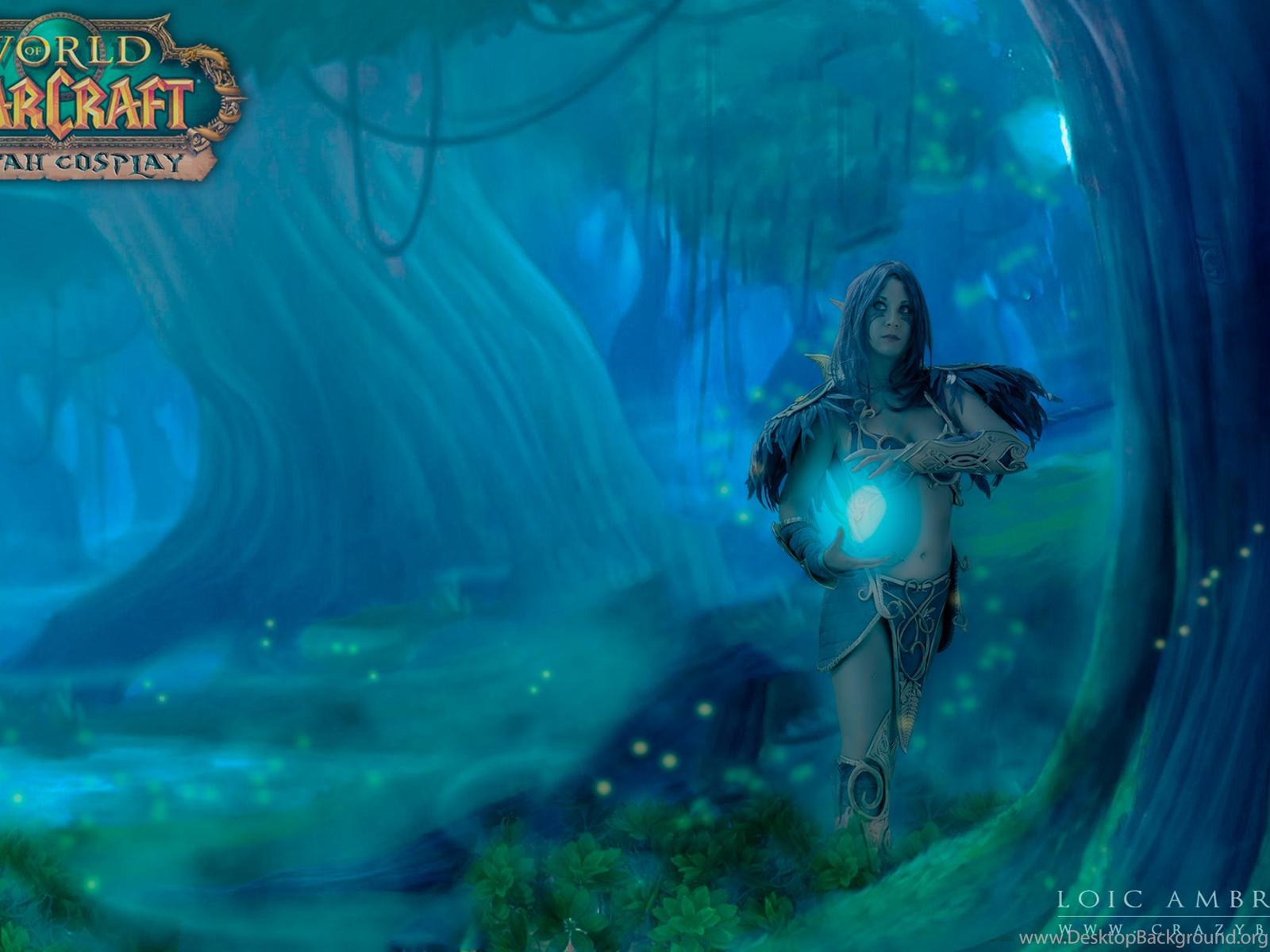 World Of Warcraft Night Elf Wallpapers Wallpapers Zone Desktop