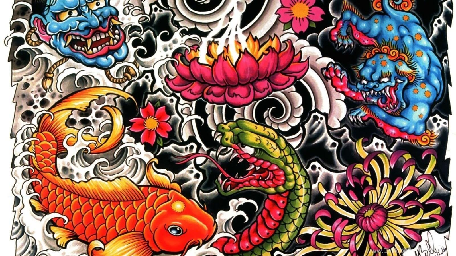 tattoo design wallpapers desktop background