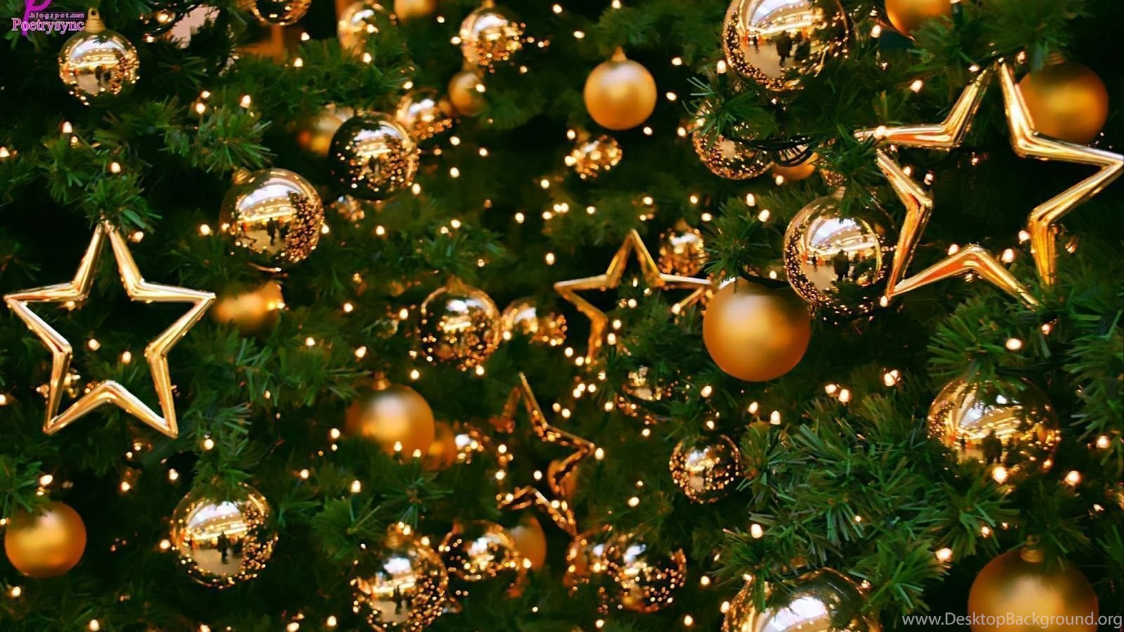 27662 merry christmas balls and christmas tree hd wallpaper image hd