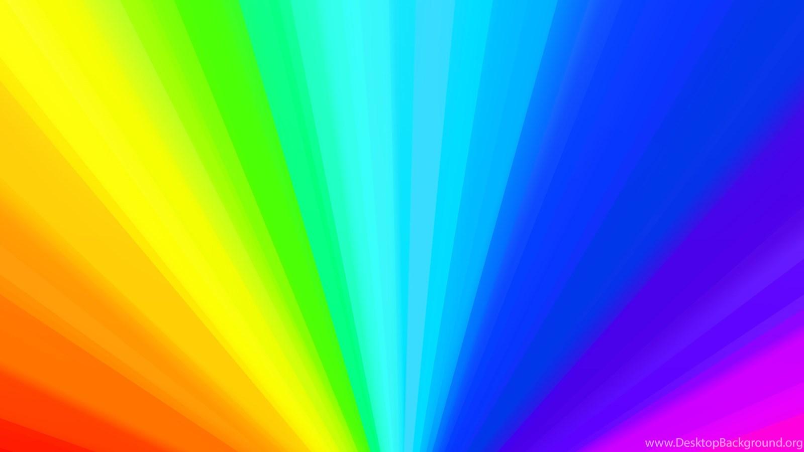 Rainbow Backgrounds Desktop Background