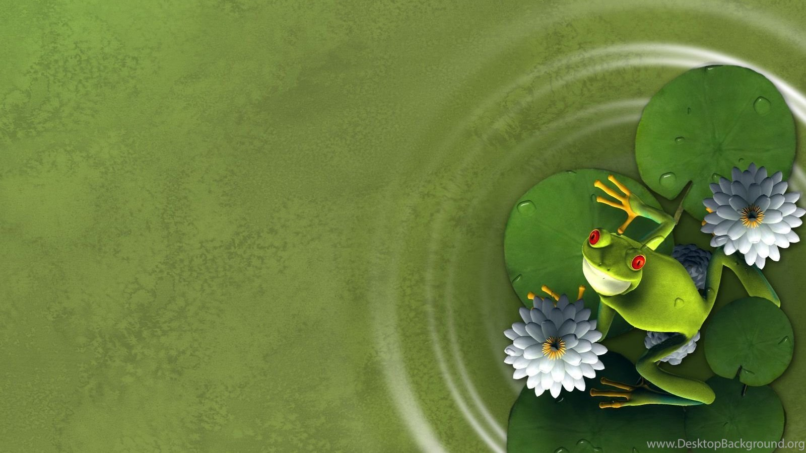 Free frog backgrounds for powerpoint animal ppt templates desktop popular alramifo Choice Image