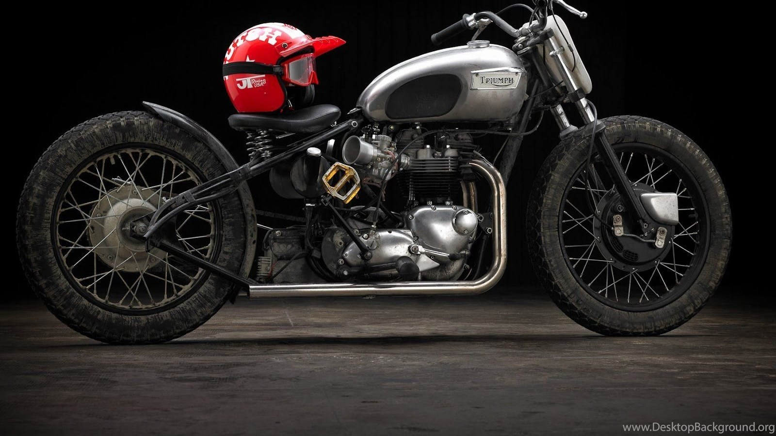 Bobber Motorcycle Custom Motorbike Bike Chopper Hot Rod Rods Desktop Background