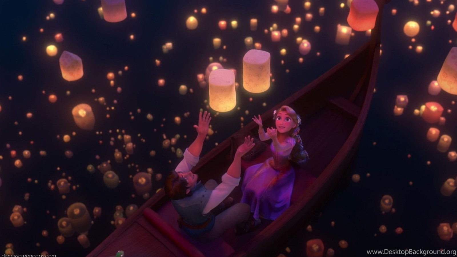 Tangled I See The Light Desktop Background