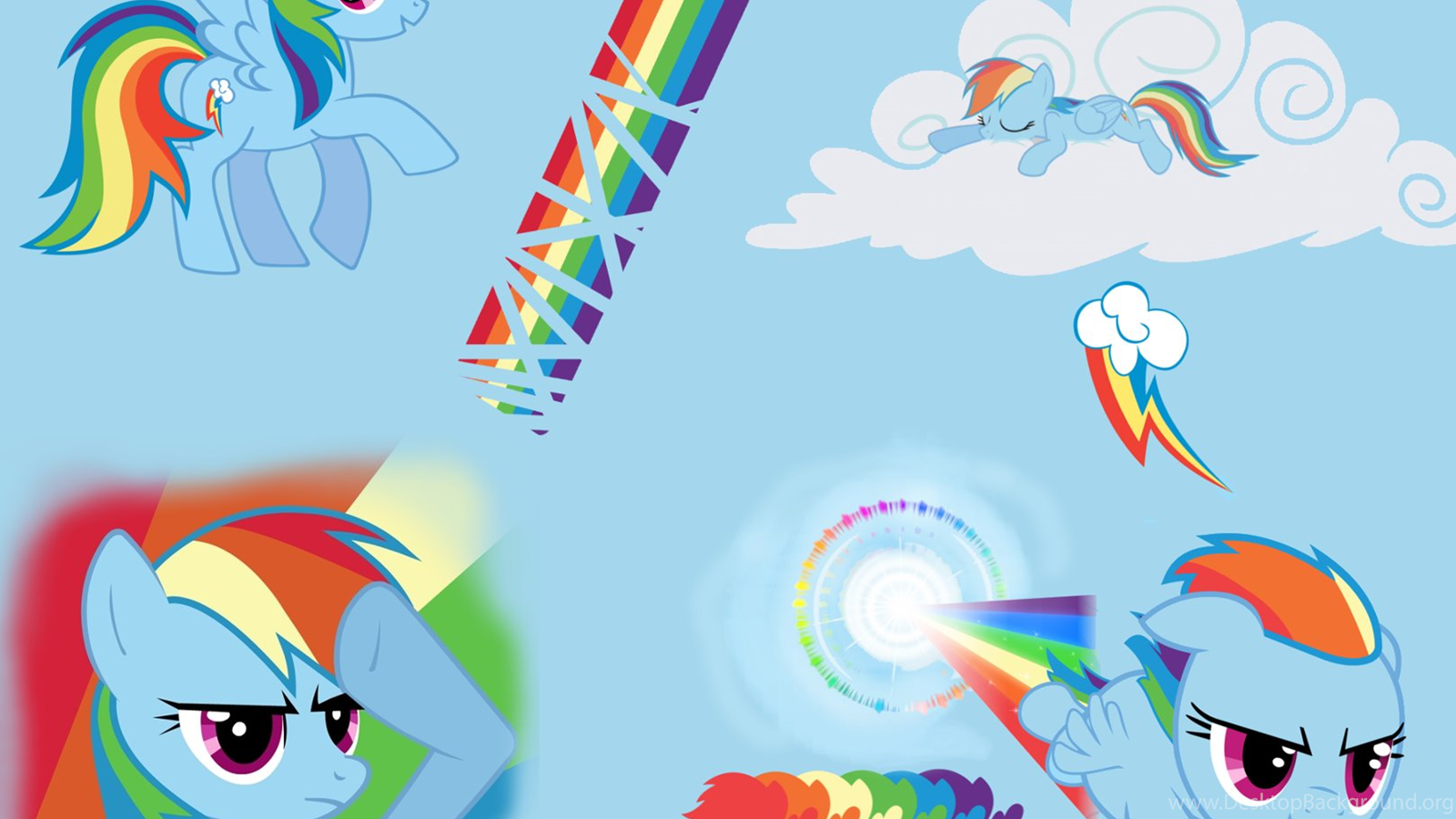 Rainbow Dash My Little Pony Friendship Is Magic Wallpapers