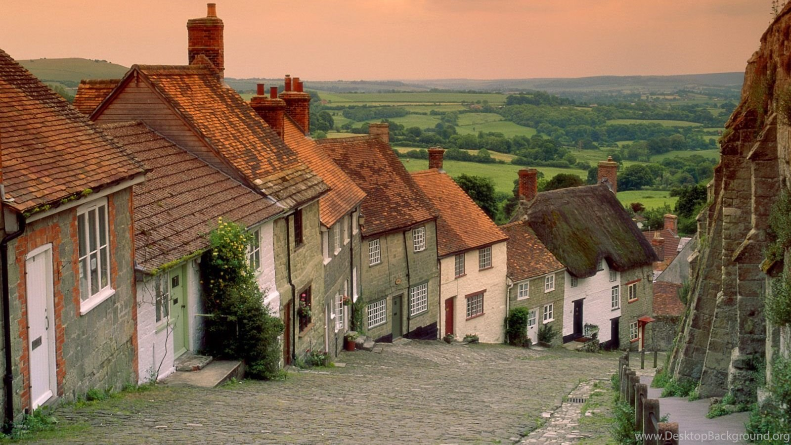 English cottage hd wallpaper english cottage backgrounds - Casas en pueblos ...