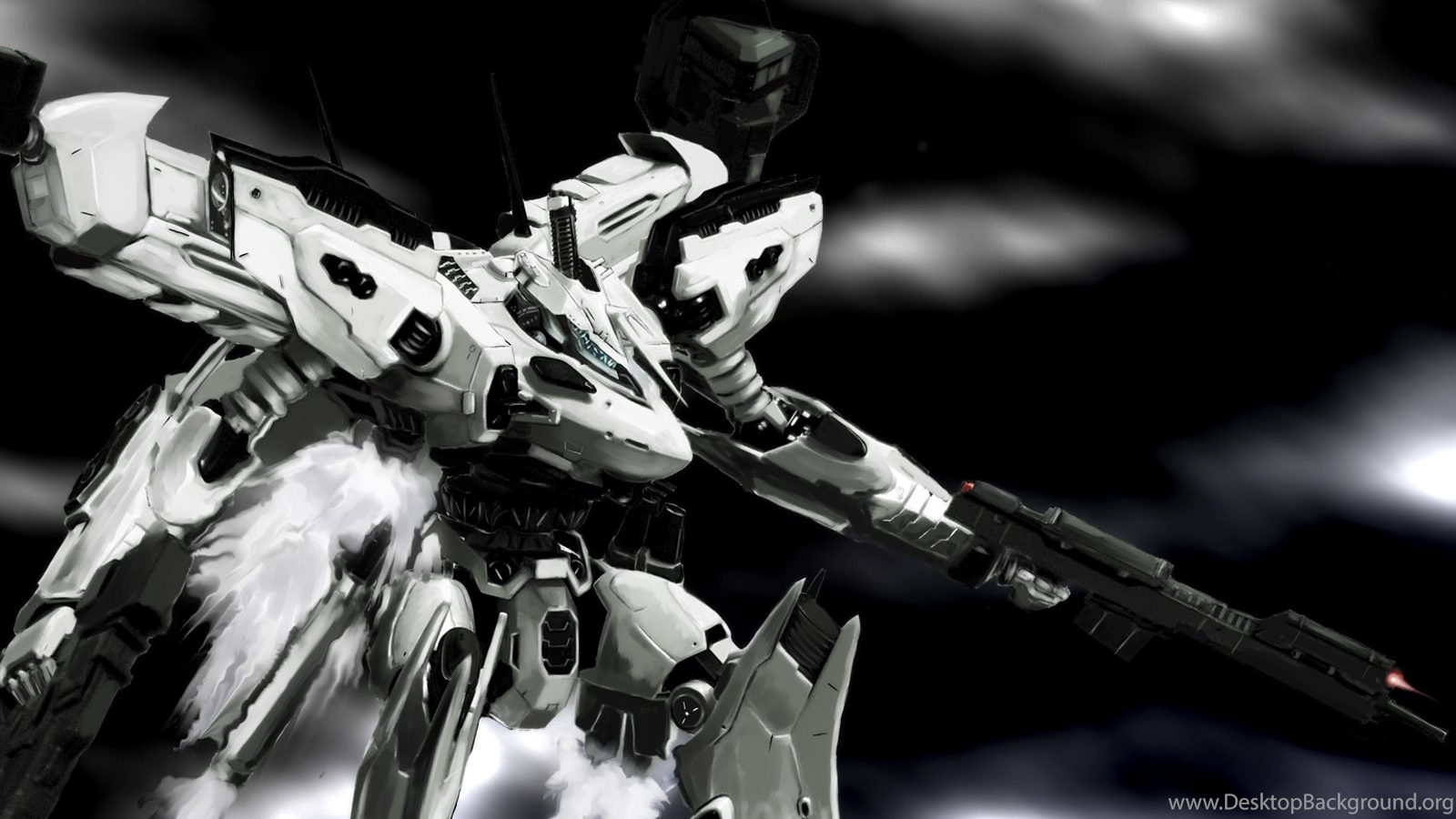 Armored Core Anime Oboi Anime Wallpapers Desktop Background
