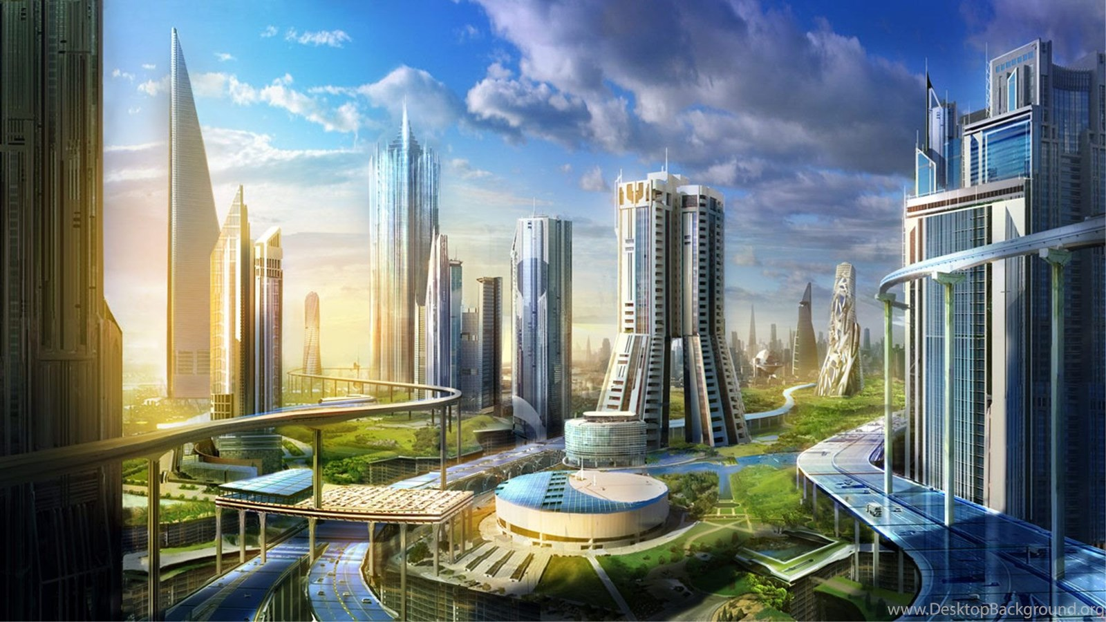 Future City Hd Wallpapers Hd Wallpaper Backgrounds Of Your Choice Desktop Background