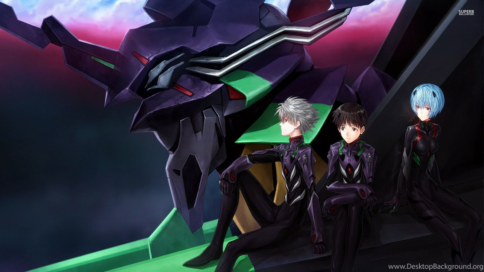 Neon Genesis Evangelion Wallpapers Anime Wallpapers Desktop Background