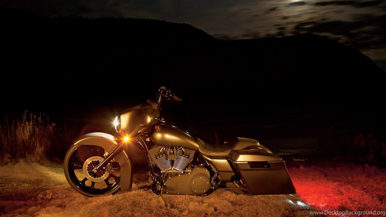2007 Harley Davidson Chopped Street Glide Computer Wallpapers