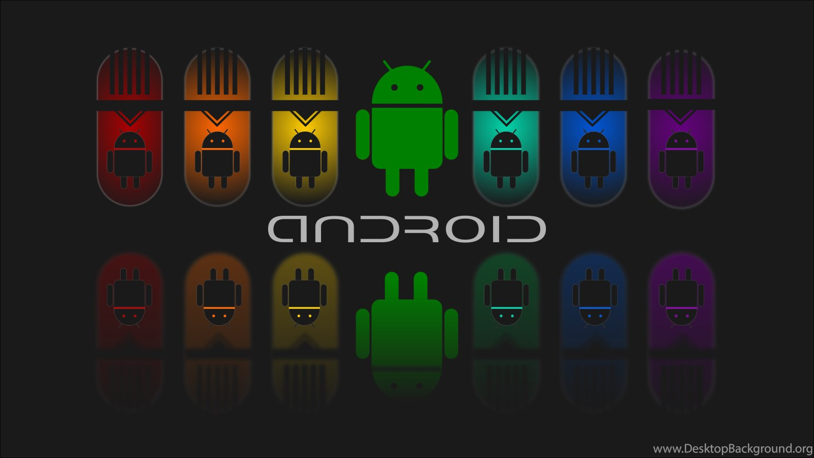 Android Full Colour Dark HD Wallpapers Desktop Background