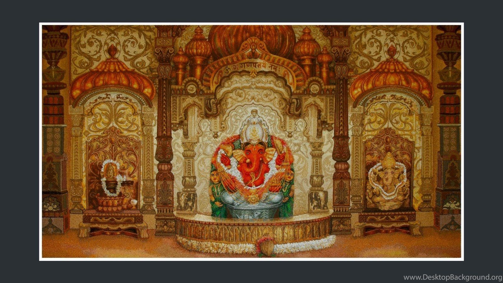Wallpapers Siddhivinayak Ganesha 1024x768 Desktop Background Source Temple Mumbai Ganesh Chaturthi Special MumbaiRock
