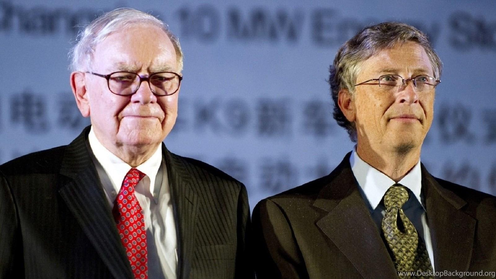 1680x1050 billionaire, bill gates, warren buffett, bill gates and