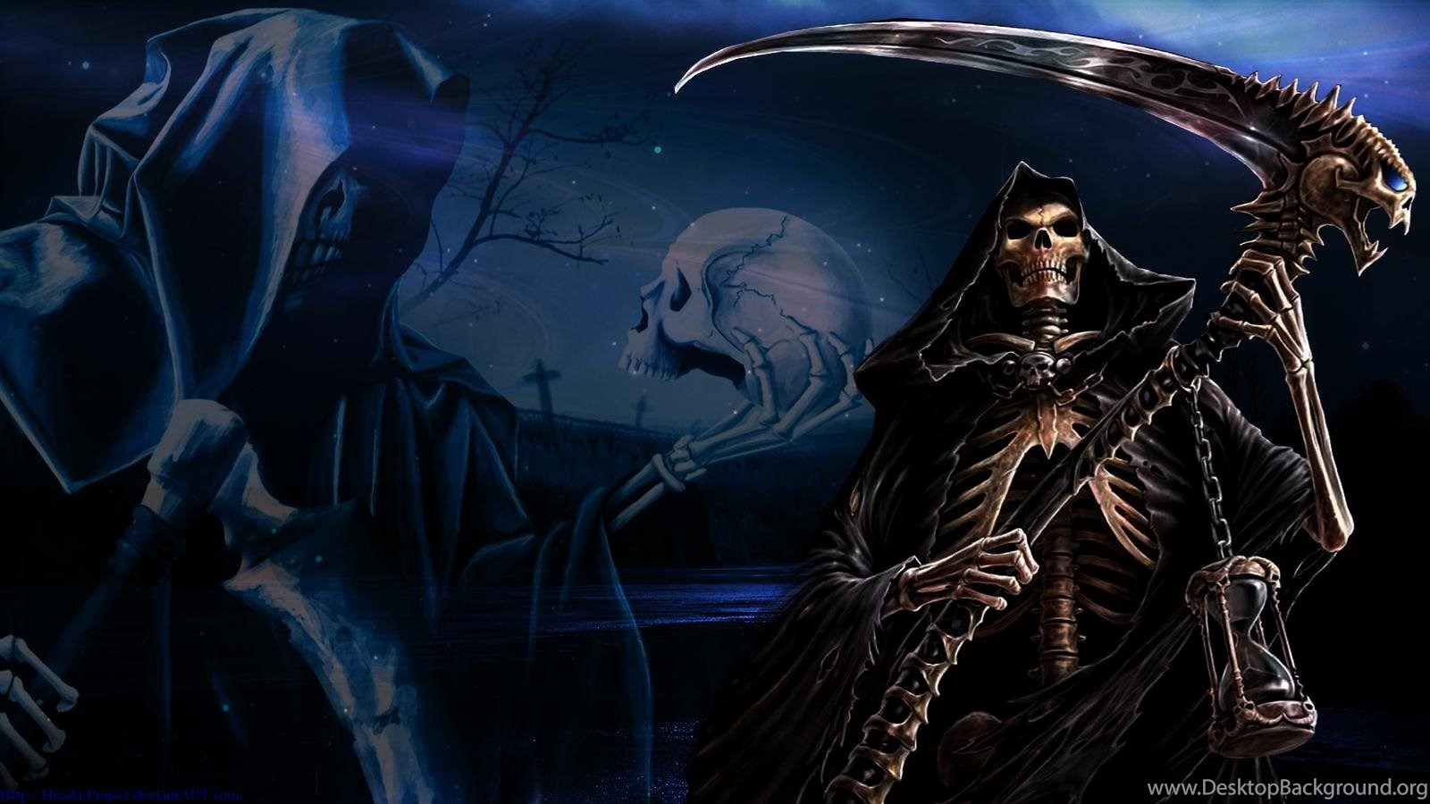 Scary Grim Reaper Wallpapers Wallpapers Wallpapers Hd Backgrounds
